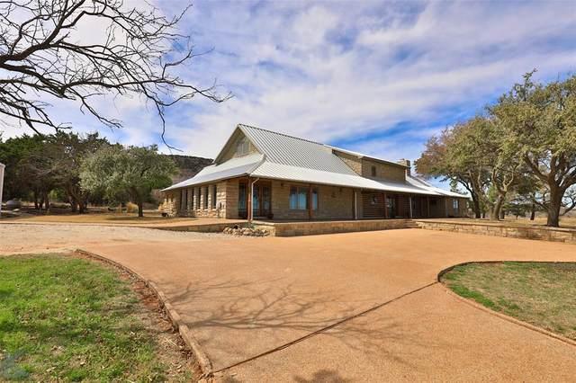 11033 Fm 1235, Buffalo Gap, TX 79508 (MLS #14300827) :: Ann Carr Real Estate