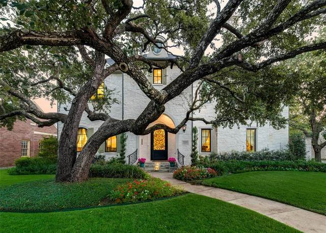 Highland Park, TX 75205 :: RE/MAX Landmark