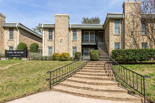 7731 Meadow Park Drive #119, Dallas, TX 75230 (MLS #14302243) :: Front Real Estate Co.
