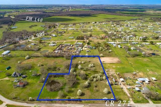 7813 County Road 271, Terrell, TX 75160 (MLS #14302485) :: RE/MAX Landmark