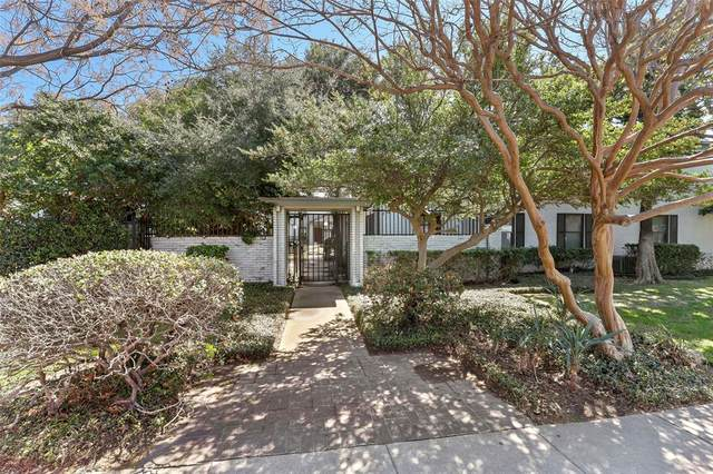 5030 N Hall Street D, Dallas, TX 75235 (MLS #14303002) :: Results Property Group