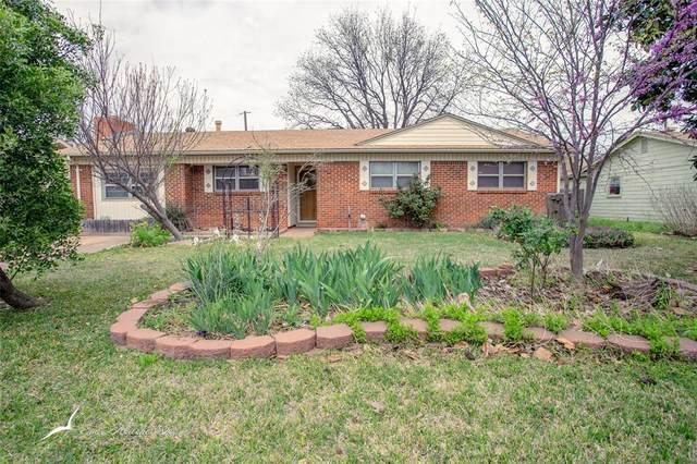 3650 Janice Lane, Abilene, TX 79603 (MLS #14303863) :: The Chad Smith Team
