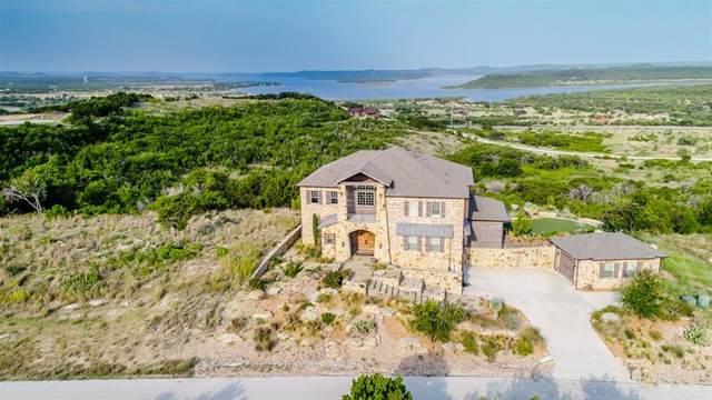 1077 Honeysuckle Court, Graford, TX 76449 (MLS #14304384) :: RE/MAX Landmark