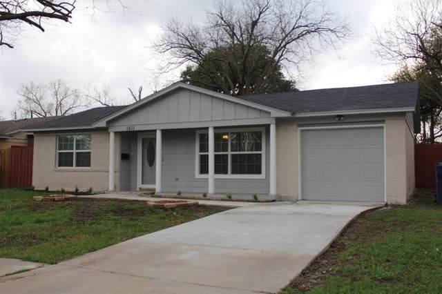 1611 Delmar Drive, Garland, TX 75040 (MLS #14304853) :: All Cities USA Realty