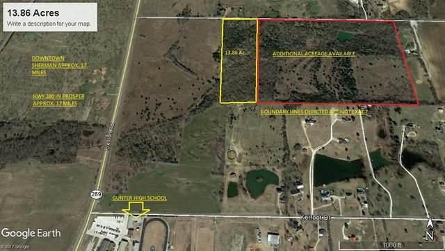 0 Mcconnell Road, Gunter, TX 75058 (MLS #14305185) :: Team Tiller