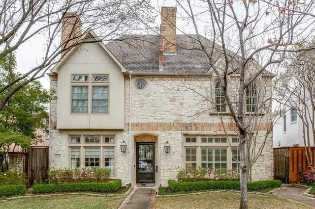 3712 Binkley Avenue, University Park, TX 75205 (MLS #14305297) :: Robbins Real Estate Group