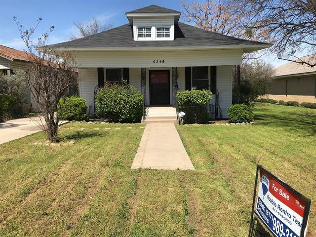 5326 Houghton Avenue, Fort Worth, TX 76107 (MLS #14305485) :: The Mitchell Group