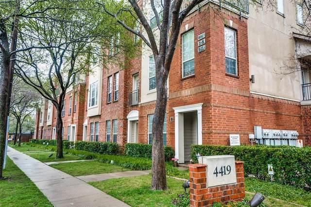 4419 Buena Vista Street #7, Dallas, TX 75205 (MLS #14305832) :: HergGroup Dallas-Fort Worth