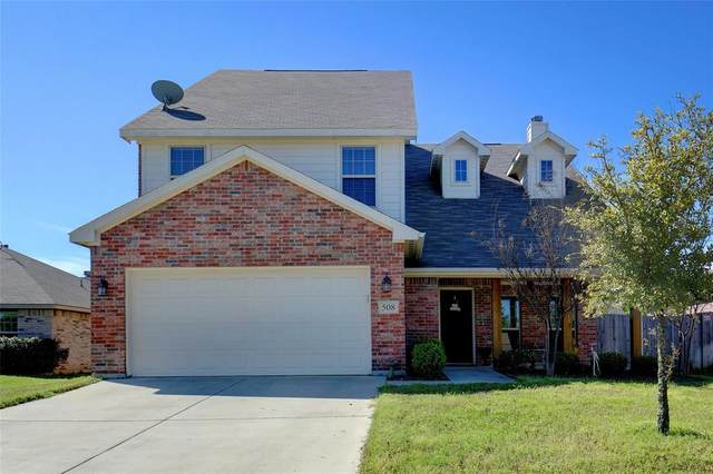 508 Dominick Court, Azle, TX 76020 (MLS #14306160) :: All Cities USA Realty