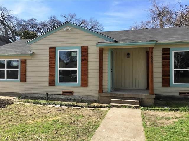 2809 Cherrywood Avenue, Dallas, TX 75235 (MLS #14306164) :: Vibrant Real Estate