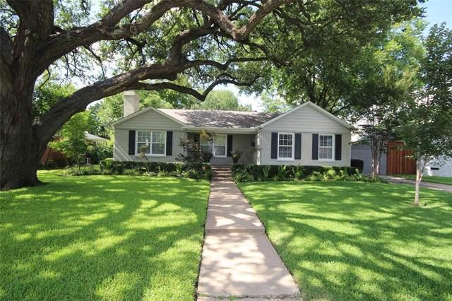 5027 Waneta Drive, Dallas, TX 75209 (MLS #14306176) :: The Mitchell Group