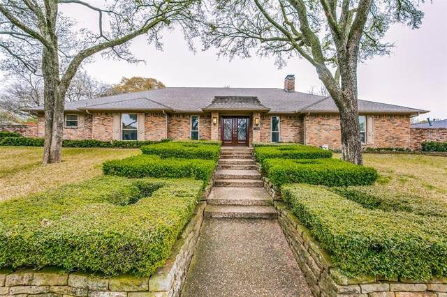 7218 Van Hook Drive, Dallas, TX 75248 (MLS #14306754) :: The Mauelshagen Group