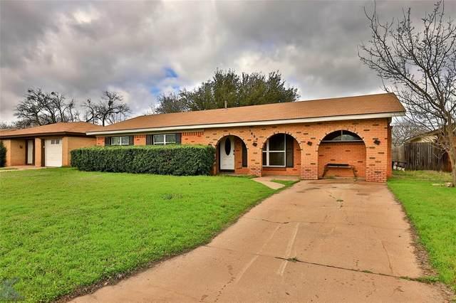1624 Westview Drive, Abilene, TX 79603 (MLS #14306905) :: The Chad Smith Team