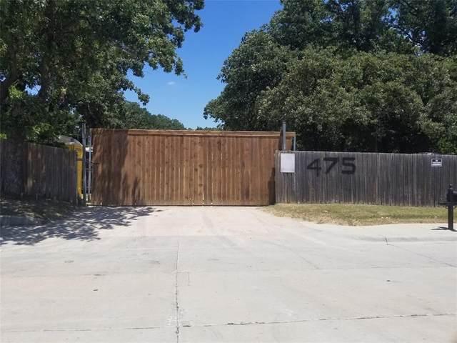 475 Bennett Lane, Lewisville, TX 75057 (MLS #14307186) :: The Chad Smith Team