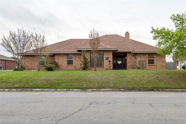 417 W Park Avenue, Weatherford, TX 76086 (MLS #14307267) :: NewHomePrograms.com LLC