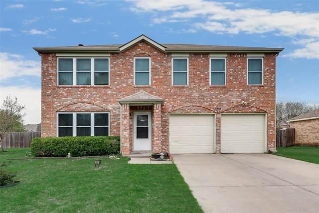 805 Creekside Drive, Glenn Heights, TX 75154 (MLS #14307655) :: The Hornburg Real Estate Group