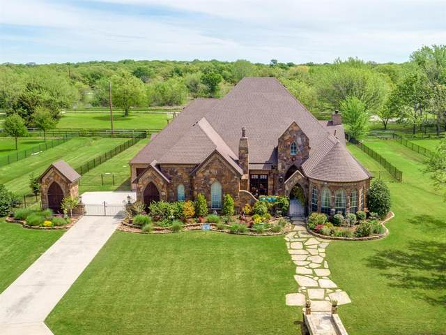 8531 Normandy Way, Bartonville, TX 76226 (MLS #14307792) :: The Kimberly Davis Group