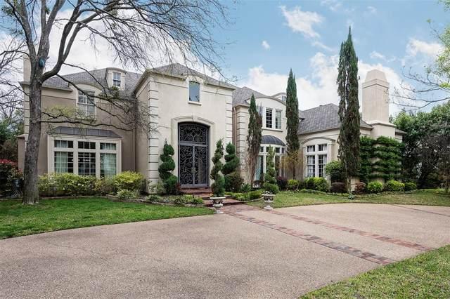 3508 Armstrong Avenue, Highland Park, TX 75205 (MLS #14307867) :: Frankie Arthur Real Estate