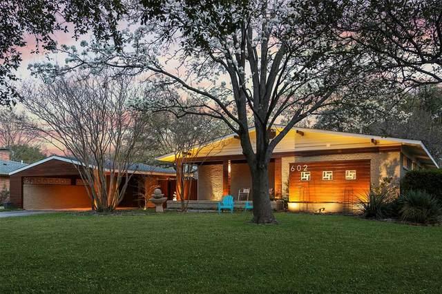 602 Thompson Drive, Richardson, TX 75080 (MLS #14308256) :: The Good Home Team