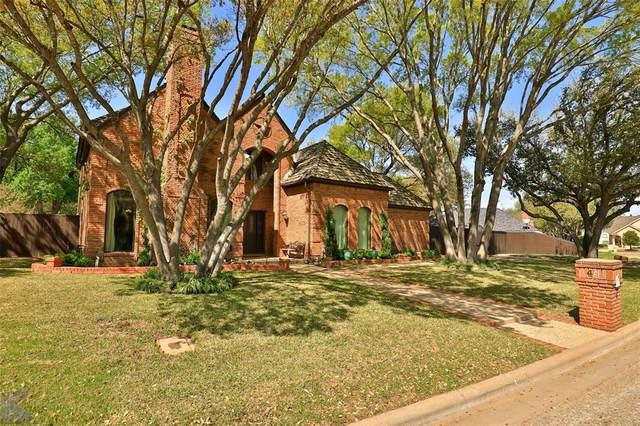 4 Cherry Hills, Abilene, TX 79606 (MLS #14309420) :: Team Tiller