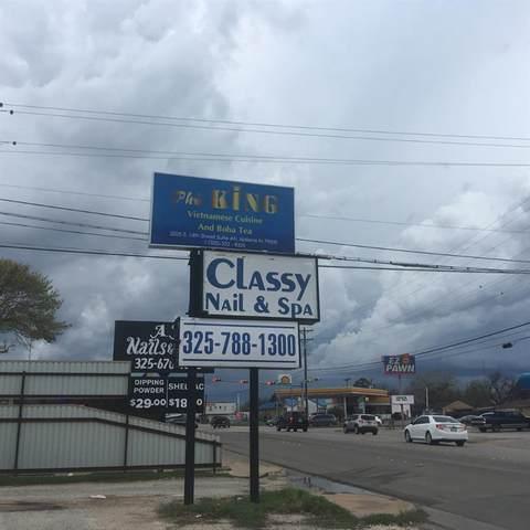 2025 S 14th Street #1, Abilene, TX 79602 (MLS #14309511) :: The Kimberly Davis Group