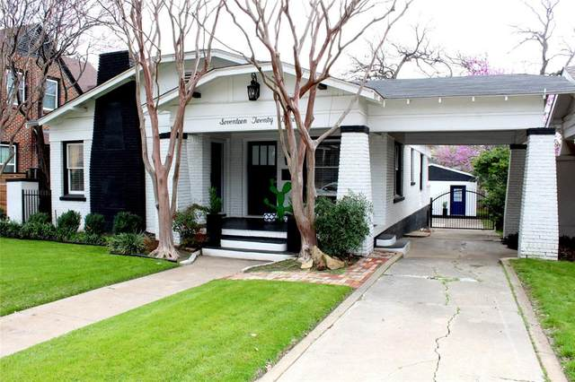1723 Thomas Place, Fort Worth, TX 76107 (MLS #14309891) :: All Cities USA Realty