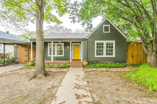 4632 Lafayette Avenue, Fort Worth, TX 76107 (MLS #14309898) :: Team Tiller
