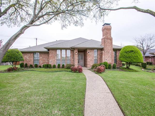 2201 Morning Glory Drive, Richardson, TX 75082 (MLS #14310659) :: The Chad Smith Team