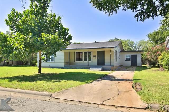 541 E North 21st Street, Abilene, TX 79601 (MLS #14310819) :: The Kimberly Davis Group