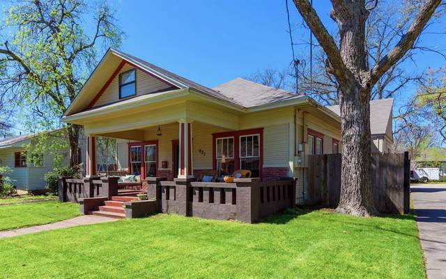 921 Oakland Street, Denton, TX 76201 (MLS #14310916) :: The Mauelshagen Group
