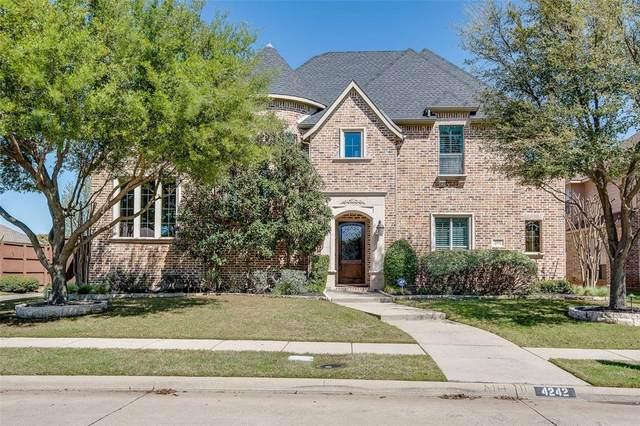 4242 Siena Drive, Frisco, TX 75033 (MLS #14311307) :: The Kimberly Davis Group