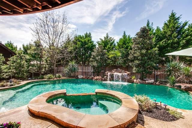 849 Hidden Springs Court, Mckinney, TX 75071 (MLS #14311323) :: Real Estate By Design