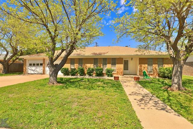 2974 Arrowhead Drive, Abilene, TX 79606 (MLS #14311452) :: The Chad Smith Team