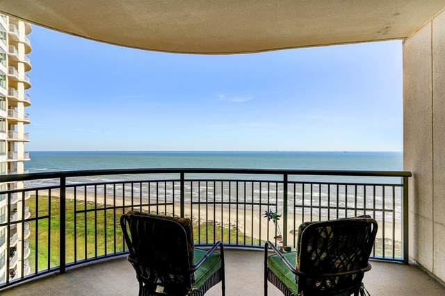 801 E Beach Drive Tw1704, Galveston, TX 77550 (MLS #14311529) :: Ann Carr Real Estate