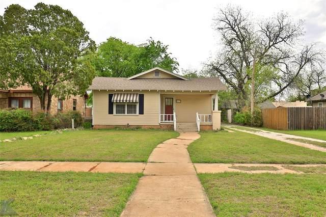 857 Meander Street, Abilene, TX 79602 (MLS #14311601) :: NewHomePrograms.com LLC