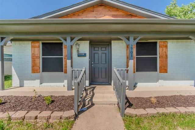 2701 Laramie Street, Irving, TX 75062 (MLS #14311687) :: The Kimberly Davis Group