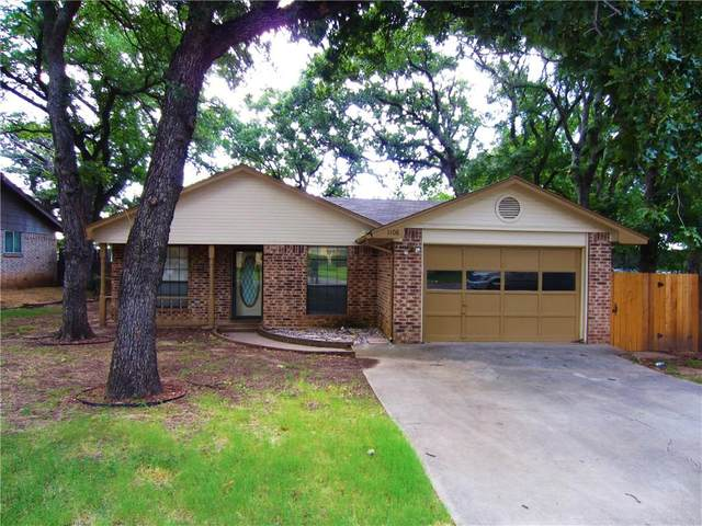 1108 Pin Oak Drive, Denton, TX 76209 (MLS #14311819) :: The Mauelshagen Group