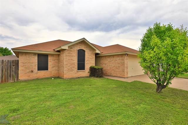 6042 Jennings Drive, Abilene, TX 79606 (MLS #14311843) :: Team Tiller