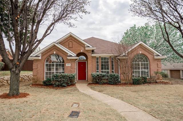 408 Ivan Drive, Lewisville, TX 75067 (MLS #14311976) :: All Cities USA Realty