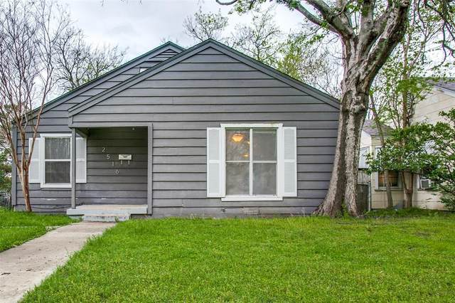 2516 Ryan Avenue, Fort Worth, TX 76110 (MLS #14312012) :: All Cities USA Realty