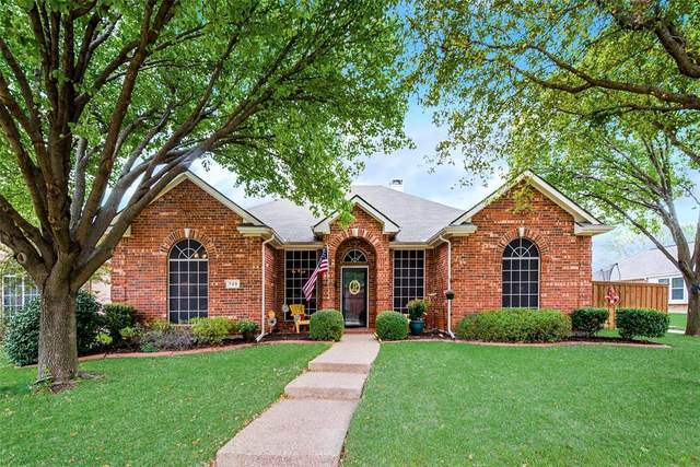 729 Yellowstone Drive, Allen, TX 75002 (MLS #14312488) :: The Good Home Team
