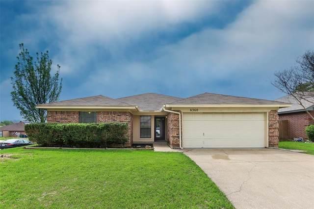 6360 Ripple Springs Drive, Watauga, TX 76148 (MLS #14313138) :: Justin Bassett Realty