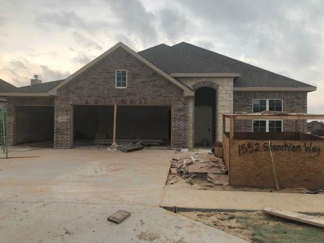 1552 Stanchion Way, Weatherford, TX 76087 (MLS #14313162) :: The Hornburg Real Estate Group