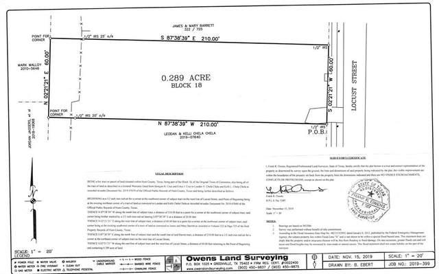 1407 Locust Street, Commerce, TX 75428 (MLS #14313233) :: Tenesha Lusk Realty Group