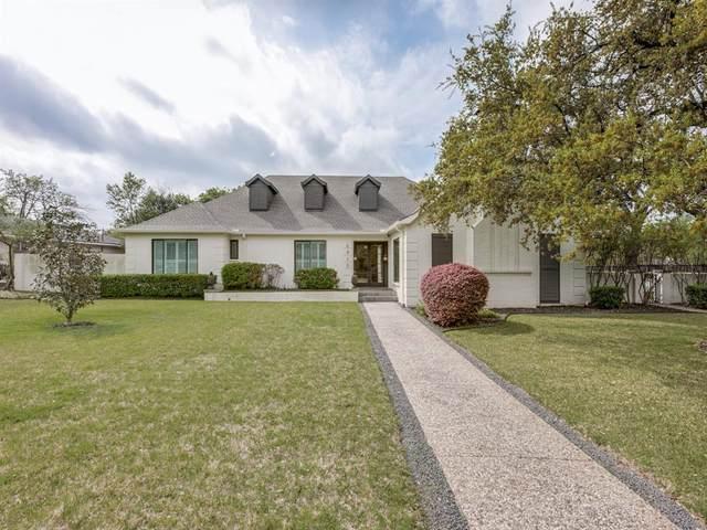 6910 Gateridge Drive, Dallas, TX 75254 (MLS #14313244) :: Hargrove Realty Group