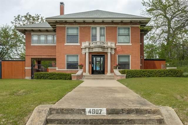 4907 Gaston Avenue, Dallas, TX 75214 (MLS #14313429) :: Robbins Real Estate Group