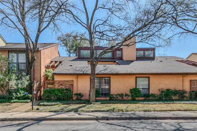 9222 Chimney Corner Lane, Dallas, TX 75243 (MLS #14313487) :: The Hornburg Real Estate Group