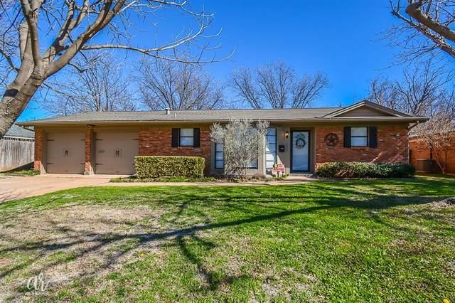2401 Brentwood Drive, Abilene, TX 79605 (MLS #14313623) :: Potts Realty Group