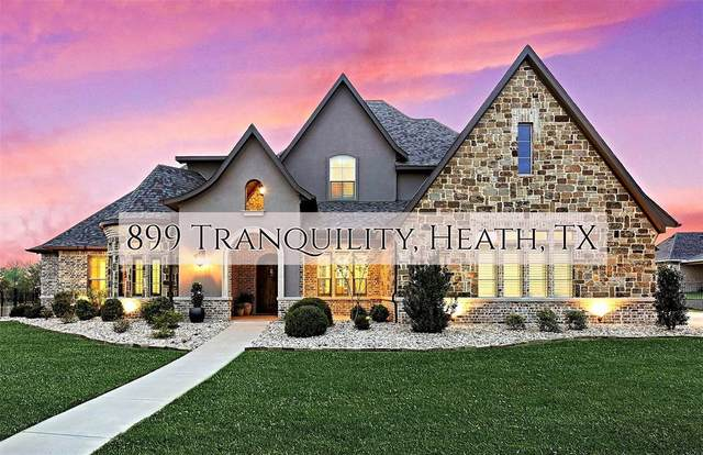 889 Tranquility, Heath, TX 75032 (MLS #14313780) :: All Cities USA Realty