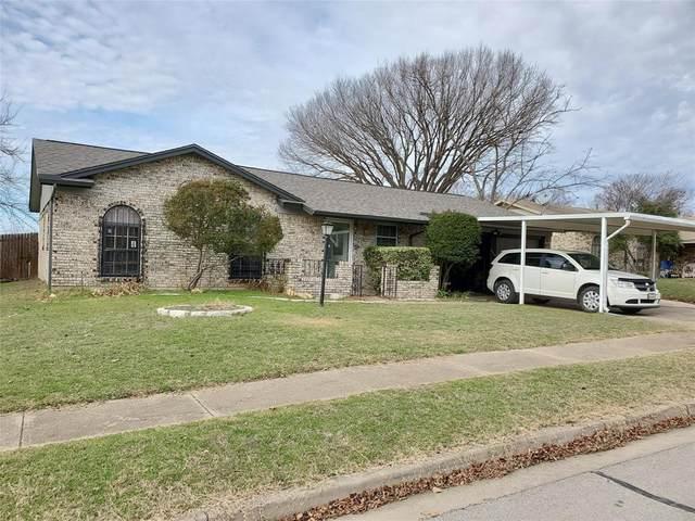 6609 Rickee Court, Watauga, TX 76148 (MLS #14313840) :: The Hornburg Real Estate Group